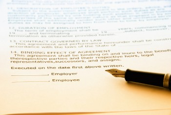 Severance agreements offered at employment termination should be reviewed by an attorney working for the employee.